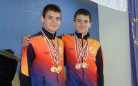 С осем медала се завърнаха плевенчаните Дейвид и Алекс Найденови от плувен турнир