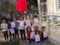 """Малки сръчковци от ДГ """"Снежанка"""" – Плевен се включиха в конкурс за изработване на мартенички"""