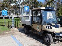 В Кнежа ще използват електрически автомобил за поддръжка на паркове и градини