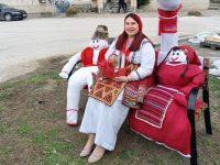 На първи март община Гулянци осъмна в бяло-червена премяна