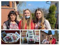 Изненадаха жените в село Победа с картички, нарисувани от деца
