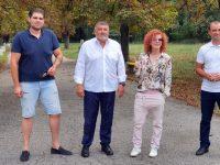 """Пламен Тачев: Ще работя за това парк """"Кайлъка"""" да стане поддържано, красиво и чисто място за разходка и отдих!"""