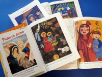 """Творби на деца от Артшкола """"Колорит"""" – Плевен отпечатани в международния сборник """"Роди се дете"""""""