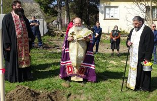С благословията на Великотърновския митрополит Григорий започна строежът на параклиса в с. Искър