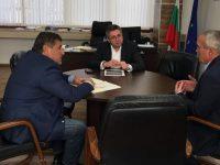 Кметът на Червен бряг постави пред зам.-министър Нанков важни инфраструктурни проблеми