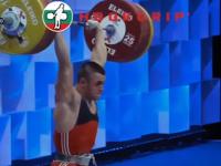 Гордост за Червен бряг! Карлос Насар с европейско сребро за България в дебюта си при мъжете
