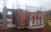 Напредва градежът на параклиса в село Ласкар, трябват и дарители