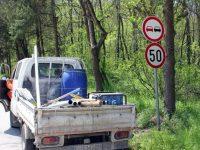 """Продължава поставянето на обозначителни пътни знаци в парк """"Кайлъка"""""""