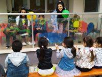 """Приказни стъкла рисуваха деца и родители в ДГ """" Юнско въстание"""" в Плевен"""