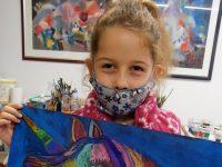 """8-годишна художничка от Артшкола """"Колорит"""" – Плевен е носител на бронзов медал от национален конкурс"""