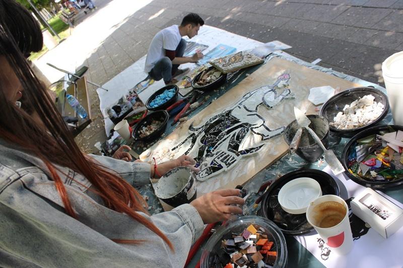 Дориан арт фест се провежда в Градската градина