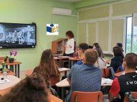 """Езиковата гимназия в Плевен бе домакин на среща по НП """"Иновации в действие"""""""