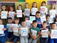 """Деца от ДГ """"Слънце"""" – Левски се включиха винициативата """"Европейска седмица в България"""""""