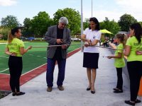 В Левски откриха обновения Спортен комплекс