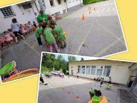 Малчугани от две детски градини в Плевен участваха в спортен празник