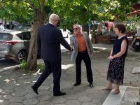 Главният прокурор Иван Гешев посети триториалните отделения в Червен бряг и Луковит