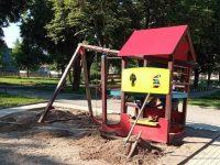 Нова детска площадка се изгражда в Градския парк на Червен бряг