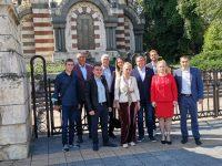 БСП регистрира листата си за изборите в 15-ти МИР-Плевен, ще се борим за поне 3 мандата, заяви проф. Гечев