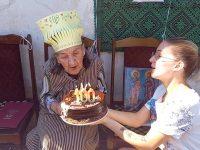 Баба Иванка от село Загражден отпразнува 100-годишен юбилей