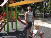 Градският парк в Червен бряг вече е с видеонаблюдение
