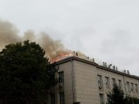 Пожар в Медицински университет Плевен! Евакуирани са всички служители!