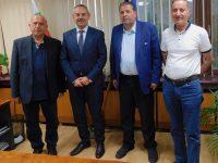 Областният управител Марио Тодоров проведе среща с делегация от Хашемитското кралство Йордания