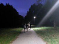 """Част от алеите в парк """"Кайлъка"""" вече са осветени с модерни соларни лампи"""
