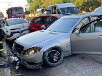 """Без книжка е бил шофьорът, причинил катастрофата на бул. """"Г. Кочев"""", автомобилът – без табели"""