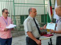 Плевенски огнеборци получиха отличия за високи професионални постижения