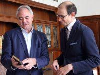Търговският съветник при Посолството на Австрия се срещна с Кмета на Община Плевен