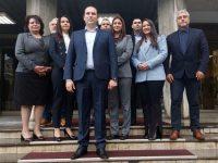 """Коалицията """"ГЕРБ – СДС"""" регистрира днес листата за народни представители от 15 МИР Плевен в РИК"""